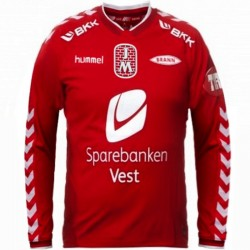 Brann Bergen (Norway) home football shirt 2013 - Hummel