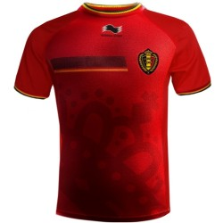 Maillot de foot Belgique domicile 2014/15 - Burrda