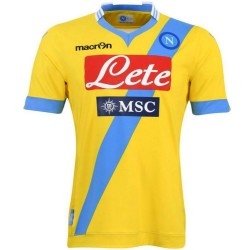SSC Napoli Third Soccer Jersey 2013/14 - Macron