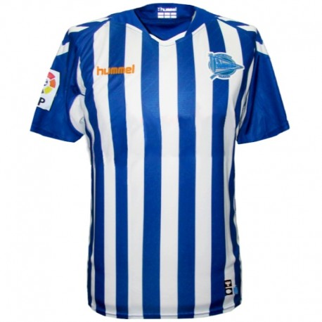 Deportivo Alaves home soccer jersey 2013/14 - Hummel