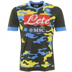 SSC Napoli Fourth Soccer Jersey 2013 14 - Macron 9cdfb263a9094