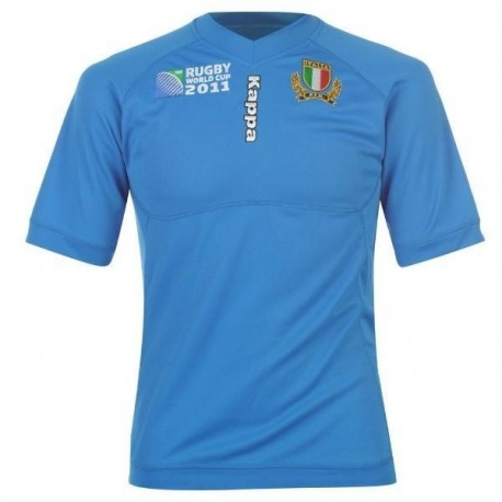 Maglia Rugby Italia 2011/12 Home by Kappa World Cup 2011