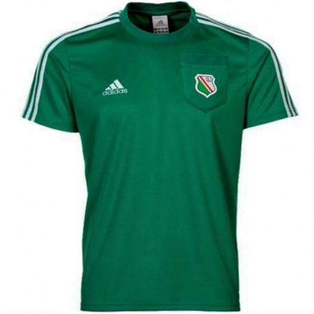 Legia Warsaw (Warszawa) cotton Presentation t-shirt 2012/13 - Adidas