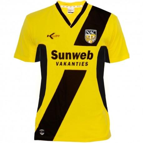 NAC Breda Home soccer jersey 2009/10 - Klupp