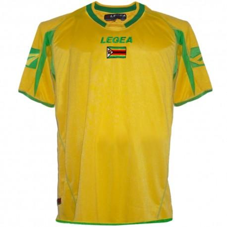 Maillot de foot nationale Zimbabwe domicile 2008 - Legea