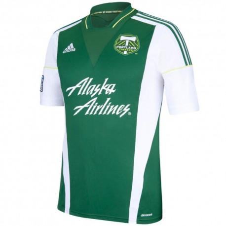 Portland Timbers Home football shirt 2013/14 - Adidas