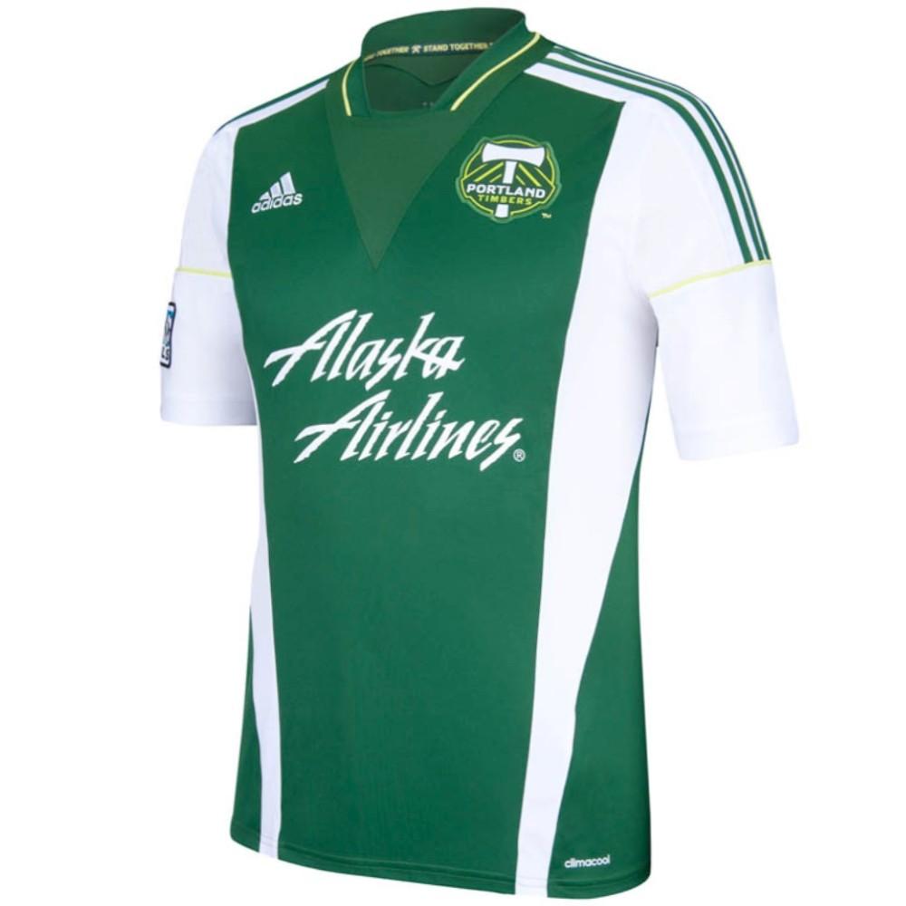 Portland Timbers Home Fußball Trikot 201314 Adidas SportingPlus Passion for Sport