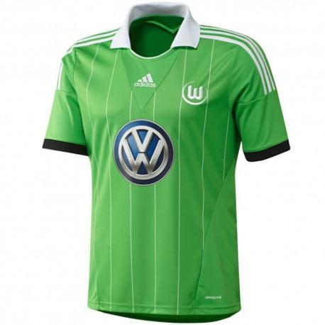 Wolfsburg Away football shirt 2013/14 - Adidas
