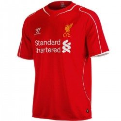 Maillot de foot FC Liverpool domicile 2014/15 - Warrior