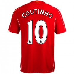 Maillot de foot FC Liverpool domicile 2014/15 Coutinho 10 - Warrior