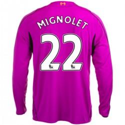 Maglia portiere Liverpool FC Home 2014/15 Mignolet 22 - Warrior