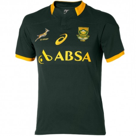 South Africa Springboks Home rugby jersey 2014/15 - Asics ...