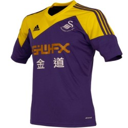 Swansea City AFC Away soccer jersey 2013/14 - Adidas