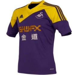 Swansea City AFC lejos camiseta de fútbol 2013/14 - Adidas