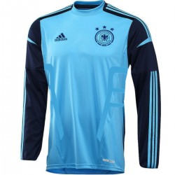 Germany Home goalkeeper shirt 2012/14 Player Issue Techfit - Adidas