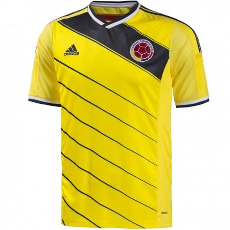 Maillot de foot Nationale Colombie domicile 2014/15 - Adidas