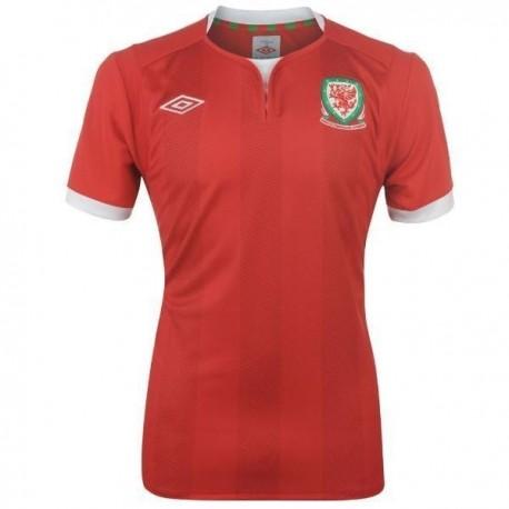 Fußball Trikot 2011/12 Wales Home von Umbro