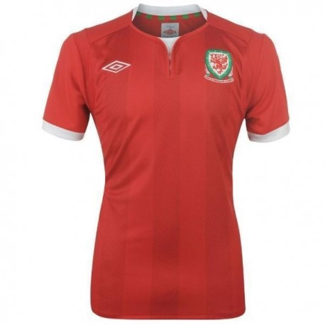 Soccer Jersey 2011/12 Wales Home by Umbro