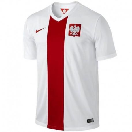 Maillot de foot nationale Pologne domicile 2014/15 - Nike