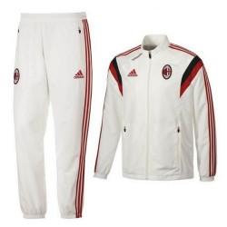 Survetement de présentation blanc AC Milan 2014/15 - Adidas