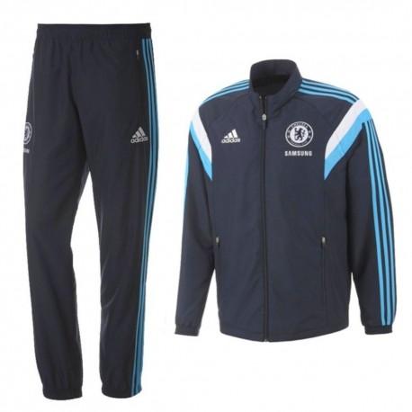 Fc Chelsea 201415 Adidas De Bleu Survetement Présentation lK35uT1FJc