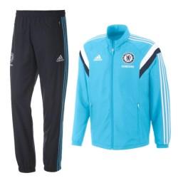 Survetement de présentation bleu clair FC Chelsea 2014/15 - Adidas