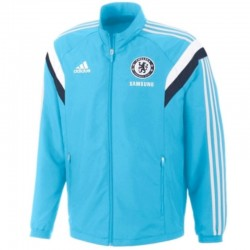 FC Chelsea sky blue presentation jacket 2014/15 - Adidas