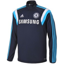 Training Sweat top bleu FC Chelsea 2014/15 - Adidas