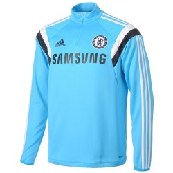 Training Sweat top bleu clair FC Chelsea 2014/15 - Adidas