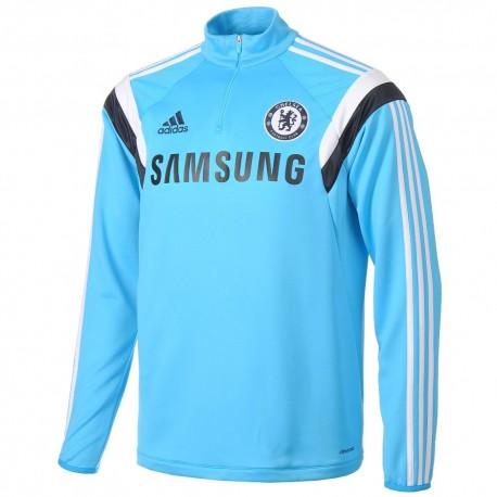 Felpa tecnica allenamento celeste FC Chelsea 2014/15 - Adidas