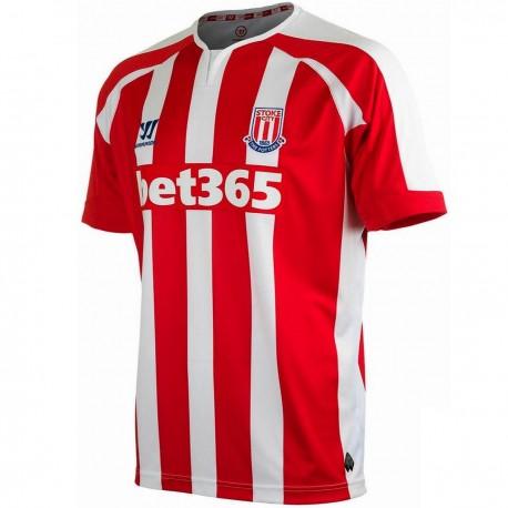 Stoke City Home soccer jersey 2014/15 - Warrior