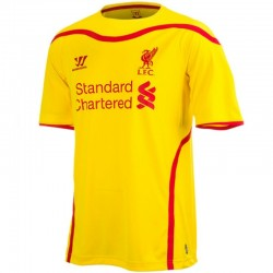 Maillot de foot Liverpool FC exterieur 2014/15 - Warrior