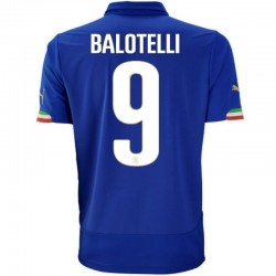 Italien national Home Fußball Trikot team 2014/15 Balotelli 9 - Puma