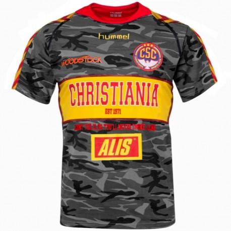 Camiseta de futbol Christiana Sports Club segunda 2014/15 - Hummel