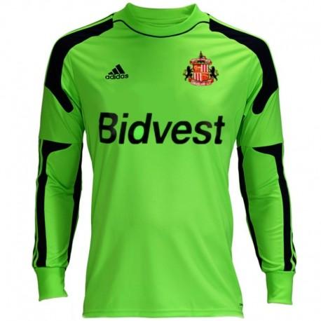 Sunderland FC Home goalkeeper football shirt 2013/14 - Adidas