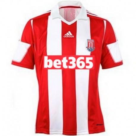 Stoke City Home soccer jersey 2013/14 - Adidas