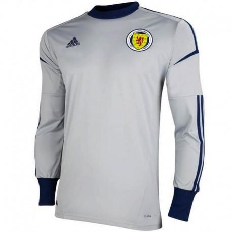 Camiseta de futbol de portero Escocia Home 2012/14 - Adidas