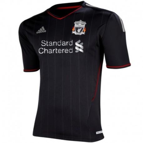 Camiseta de futbol Liverpool FC Away 2011/12 - Player Issue Techfit - Adidas