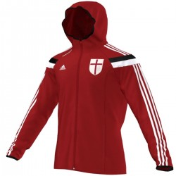 Veste Anthem presentation AC Milan 2014/15 - Adidas