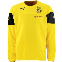 BVB Borussia Dortmund training sweat top 2014/15 yellow - Puma