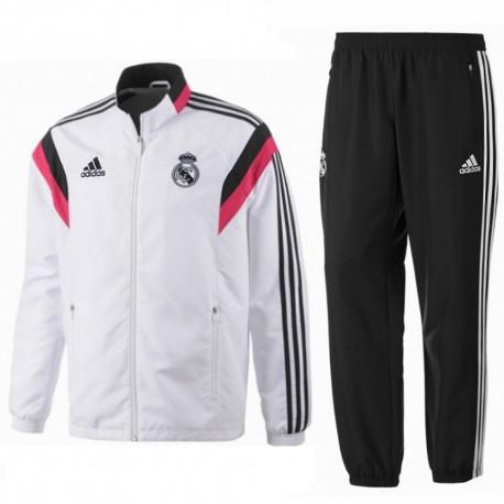 Real Madrid CF chándal presentación 2014/15 - Adidas