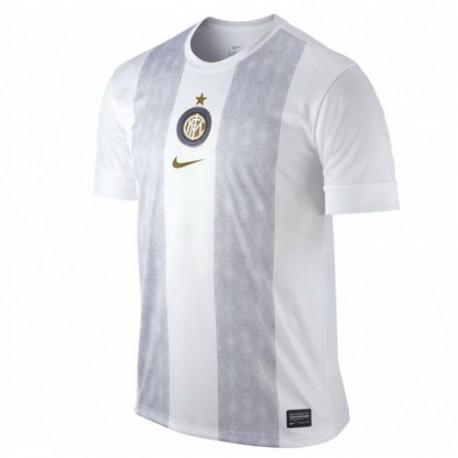 Antes de la carrera de entrenamiento Jersey FC Inter 2013-Nike
