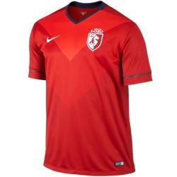 Maillot de foot LOSC Lille domicile 2014/15 - Nike