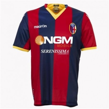 Bologna Fc Soccer Jersey 2011/12 Home-Macron