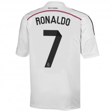 44db42642f9 Real Madrid CF Home football shirt 2014/15 Ronaldo 7 - Adidas ...