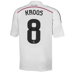 Maglia calcio Real Madrid CF Home 2014/15 Kroos 8 - Adidas