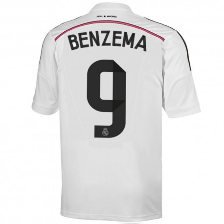 Real Madrid CF camiseta Home 2014/15 Benzema 9 - Adidas