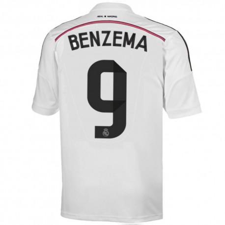 Real Madrid CF Home football shirt 2014/15 Benzema 9 - Adidas