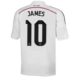 Maillot de foot Real Madrid domicile 2014/15 James 10 - Adidas
