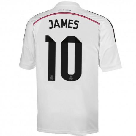 Real Madrid CF Home football shirt 2014/15 James 10 - Adidas